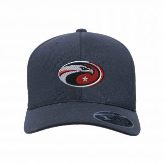 Team-365-by-Flexfit-Adult-Cool-Dry-Mini-Pique-Performance-Cap-in-Black-CDS-Eagle-Logo