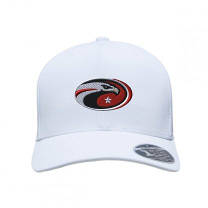 Team-365-by-Flexfit-Adult-Cool-Dry-Mini-Pique-Performance-Cap-in-White-CDS-Eagle-Logo